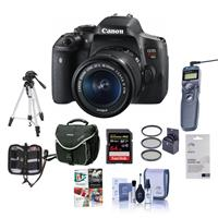 Canon EOS Rebel T6i DSLR Camera with EF-S 18-55mm f/3.5-5...