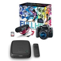 EOS Rebel T6i Video Creator Kit - with EF-S 18-55mm f/3.5...