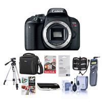 Canon EOS Rebel T7i DSLR Camera Body - Bundle With Camera...