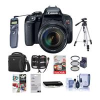 Canon EOS Rebel T7i DSLR with EF-S 18-135mm f/3.5-5.6 IS ...