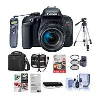 Canon EOS Rebel T7i DSLR with EF-S 18-55mm f/4-5.6 IS STM...