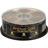 Delkin CD-R Gold Scratch Armor, 700mb, 80 Minute, 25 Pack...