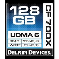 Delkin Devices 128GB CompactFlash Memory Card 700x UDMA DDCF700-128GB