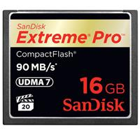 SanDisk 16 GB Extreme Pro CF90 Compact Flash Memory Card