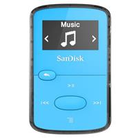 Sandisk 8GB Clip Jam MP3 Player - Blue - FM Tuner, Micro ...