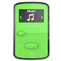 Sandisk 8GB Clip Jam MP3 Player - Green - FM Tuner, Micro...