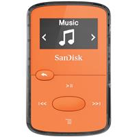 Sandisk 8GB Clip Jam MP3 Player - Orange - FM Tuner, Micr...