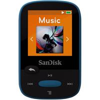 Sandisk 8GB Clip Sport MP3 Player, 1.44 LCD Display, Blue