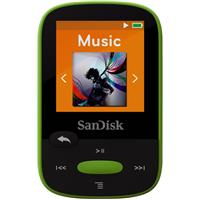Sandisk 8GB Clip Sport MP3 Player, 1.44 LCD Display, Lime