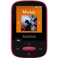 Sandisk 8GB Clip Sport MP3 Player, 1.44 LCD Display, Pink