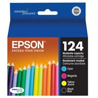 Epson T124120-BCS 125 Combo-Pack Moderate Capacity Ink Ca...
