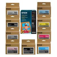 T760 Ultrachrome HD Ink Cartridge Complete Set SureColor ...