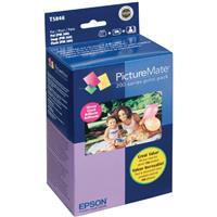 Epson T5846 PictureMate-200 Glossy Print Pack, Ink & Pape...