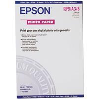 "Epson Glossy Photo Inkjet Paper, 9.4 mil., 13x19"", 20 Sheets"