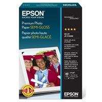 Epson Sheet 4X6IN Premium Semigloss Photo Paper
