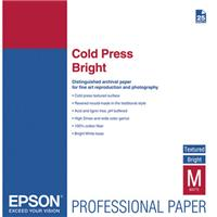 Epson 25-SHEET 17X22 COLD PRESS BRIGHT