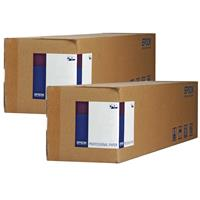 """Epson 2 Pack Exhibition Canvas Satin 17""""x40' Roll, 23 mil..."""