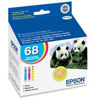 Epson High Capacity 3 Color Cyan/Magenta/Yellow Ink Cartr...