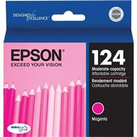 Epson T124320 Magenta Moderate-Capacity Ink Cartridge for...