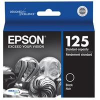 Epson T125120 Standard Capacity Black Ink Cartridge, for ...