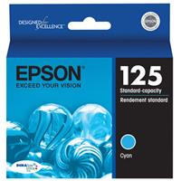 Epson T125220 Standard Capacity Cyan Ink Cartridge, for S...