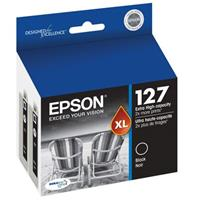Epson T127120-D2 127 Dual Pack Extra High-Capacity Black ...