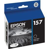 Epson T157120 157 Photo Black Ink Cartridge for Stylus R3...