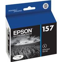Epson T157820 157 Photo Matte Black Ink Cartridge for Sty...