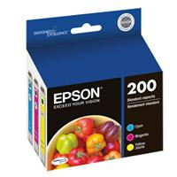Epson 200 DURABrite Ultra Color Multipack (Cyan, Magenta,...