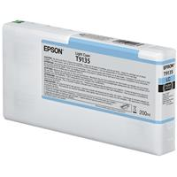 Epson Ultrachrome HD 200ml Light Cyan Pigment Ink Cartrid...