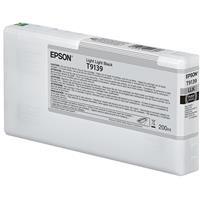 Epson Ultrachrome HD 200ml Light Black Pigment Ink Cartri...