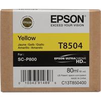 Epson T850 Yellow Inkjet UltraChrome HD Ink Cartridge for...