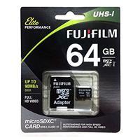 Fuji 64GB Class 10 UHS-1 Microsdxc Memory Card