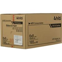 "HITI P510 6x8 Ribbon & Paper Case, for Total of 330 6x8"" ..."