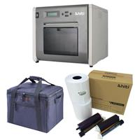 P525L Roll Photo Printer - Bundle with HiTi 4x6 Media for...