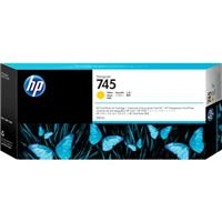 HP 745 300mL Yellow Ink Cartridge for DesignJet Z5600/Z26...