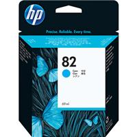 HP #82 Cyan Inkjet Cartridge.