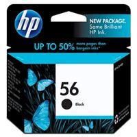 HP #56 Black Ink Cartridge for the PS7450, 450C, Deskjet ...