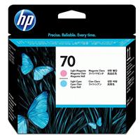 HP # 70 Replacement Light Magenta & Light Cyan Printhead ...