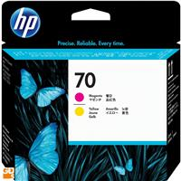 HP # 70 Replacement Magenta & Yellow Printhead for the Ph...