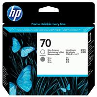 HP 70 Gloss Enhancer and Grey Printhead