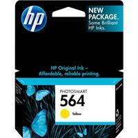 HP 564 Yellow Ink Cartridge (CB320WN)