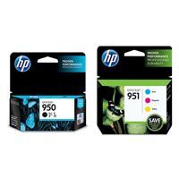 951 Officejet Cyan/Magenta/Yellow Ink Cartridge Combo Pac...