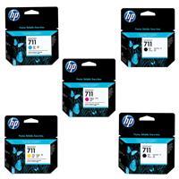 711 Ink Cartridge For HP T120 Printer Bundle 1 Consists o...
