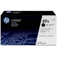 HP LaserJet Dual Pack Black Print Cartridge