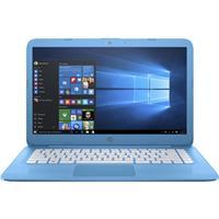 "HP Stream 14-AX010NR 14"" Notebook Computer, Intel Celeron..."