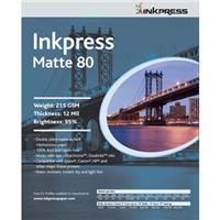 Inkpress Duo Matte 80 Inkjet Paper, 215 gsm Weight, 12 mi...
