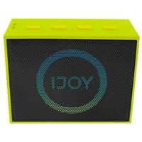 The Minimal, Mini Wireless Bluetooth Stereo Speaker with LED Dancing Light - Green