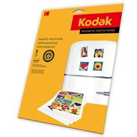 Kodak Magnetic Color Photographic Inkjet Paper, Letter Si...