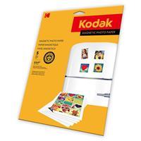 Kodak Magnetic Color Photographic Inkjet Paper, 4R Size, ...